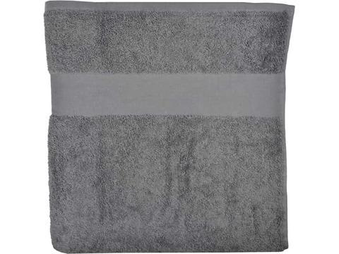 Luxe handdoek van organisch katoen 100 x 50 cm