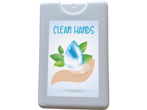 Handreiniging spraycard