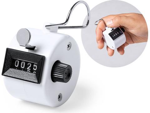 Handteller om mensen of objecten te tellen