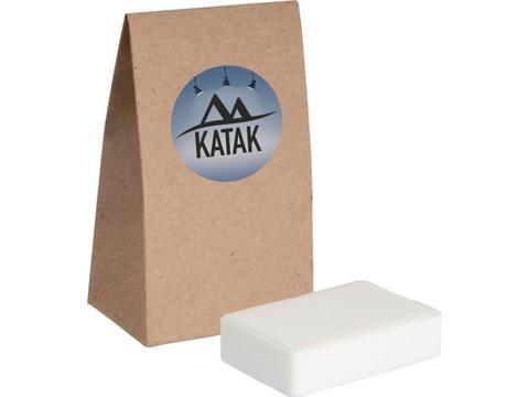 Hand soap kraft paper