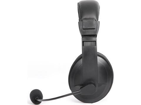 USB stereo headset met microfoon