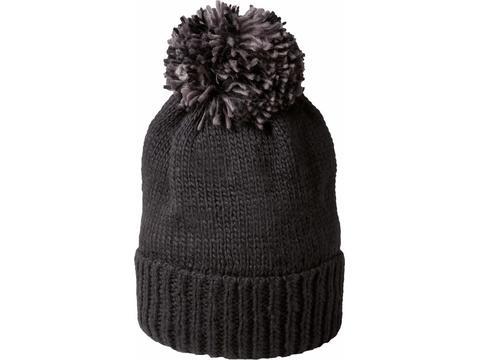 Heavy Knitted Pumpkin Hat