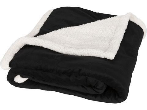 Hemels zacht sherpa fleece plaid deken