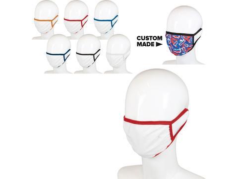 Masque réutilisable à triple épaisseur