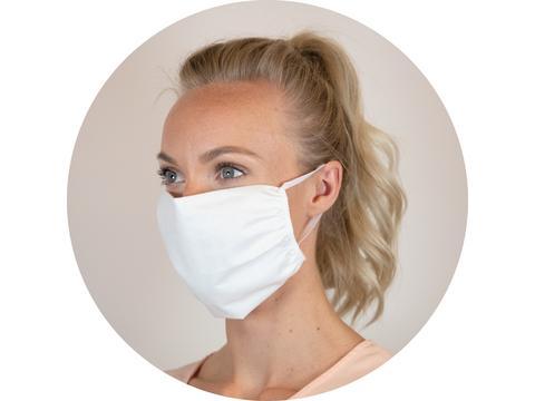 Herbruikbaar katoenen mondmasker - goede kwaliteit wasbaar op 60°