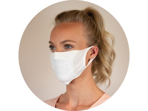 Herbruikbaar mondmasker met filter - onbedrukt & wasbaar op 90°