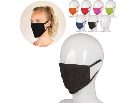 Herbruikbaar mondmasker uit katoen en elastaan