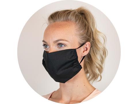 Masque réutilisable en coton Oeko-Tex, Fabriqué en Europe