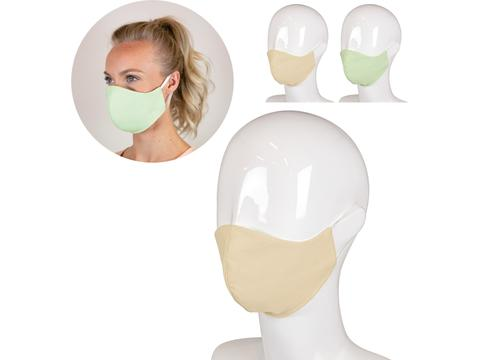 Re-usable face mask med cotton 3-layer Made in Europe