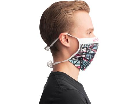 Herbruikbaar sublimatie mondmasker met koordjes