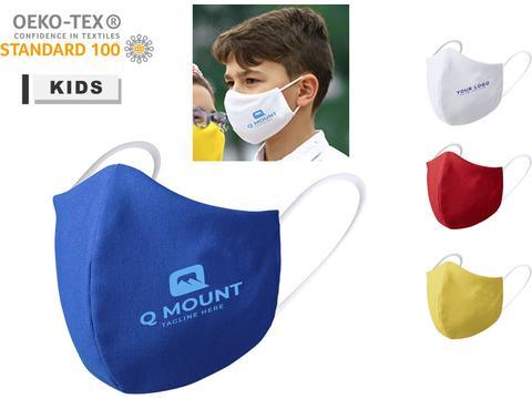 Reusable hygienic mask for children