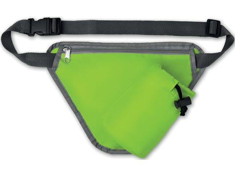 Waist bag with bottle compartment