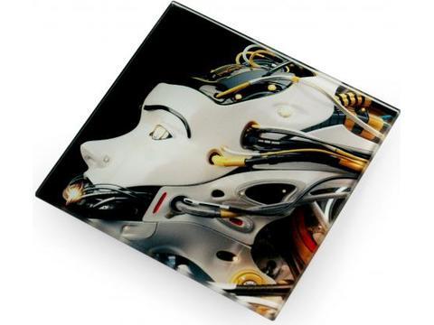 Hittebestendige glazen coaster