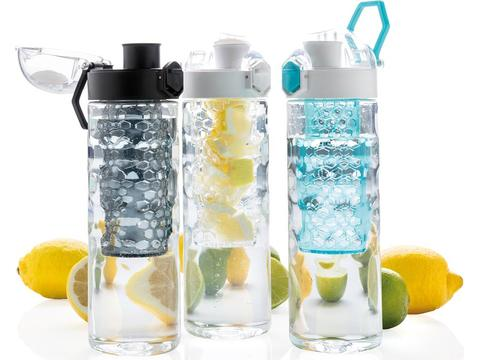 Honeycomb lekvrije waterfles met infuser - 700 ml