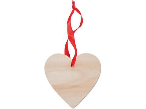 Décoration en forme de cœur