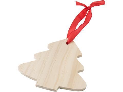 Décoration de Noël en bois Arbre