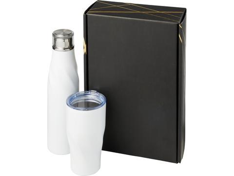 Hugo koperen vacuüm geïsoleerde geschenkset - 650 & 470 ml