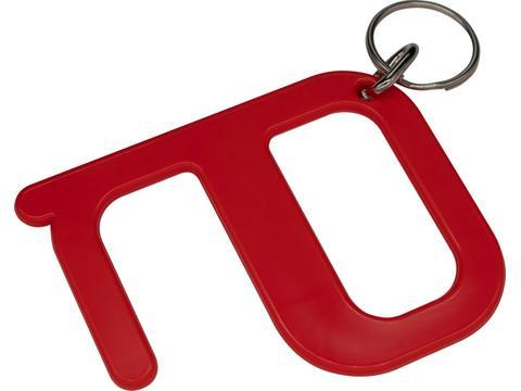 Hygiëne sleutelhanger - zonder handen tool
