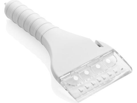 Grattoir à glace avec lampe COB et fonction sécurité