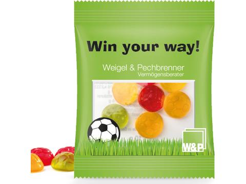 Jelly Gum Mini Bag Footballs