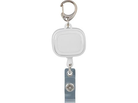 Retractable ID holder Reflects