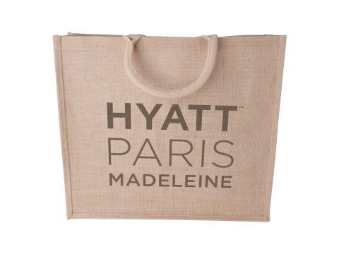 Jute big shopper 45x40x12cm