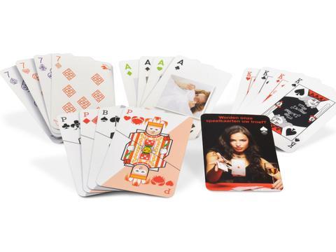 Kaartspel met eigen speelzijde