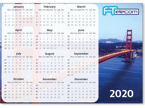 Kalender magneet A5