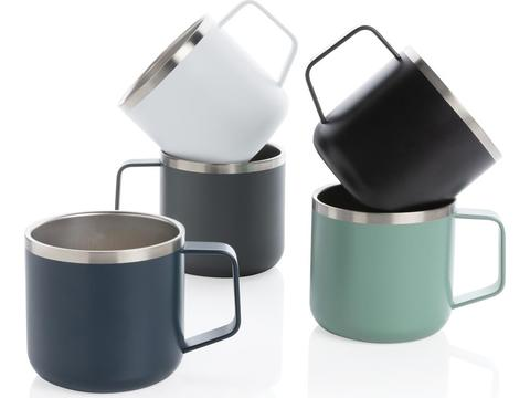 Stainless steel camp mug - 350 ml