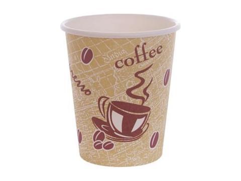 Tasses à café en carton 225ml