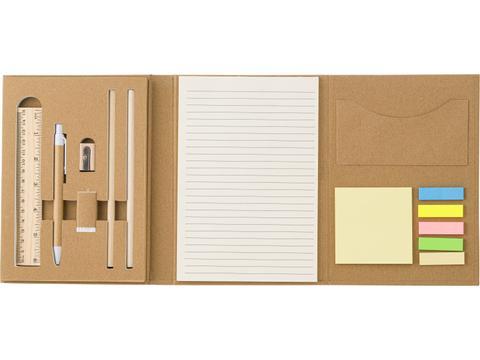 Cardboard writing folder