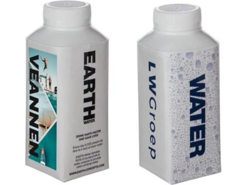 FSC kartonnen waterfles - 330 ml