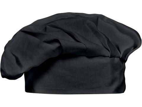 Toque de chef en coton