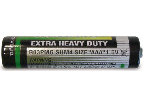 Battery type AAA