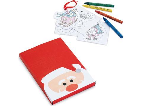 Colouring set Christmas