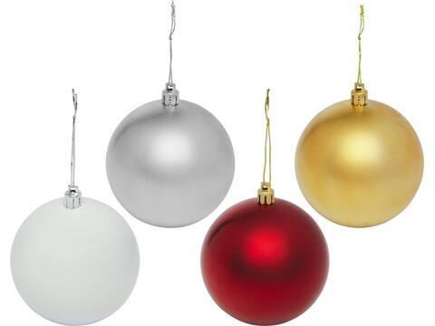Kerstbal in geschenkverpakking