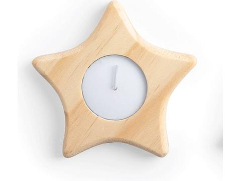 Xmas candle star