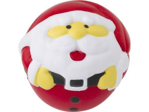 Santa Claus anti stress ball Promo