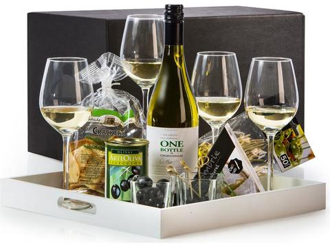 Christmas gift package Happy hour