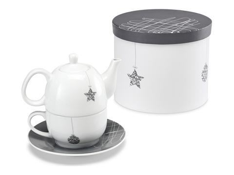 Teacup and teapot set