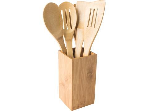 Bamboe keuken set