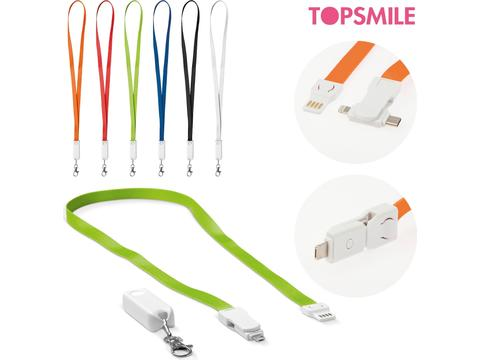 Keycord charging cable 3-in-1