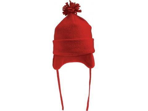 Kids Winter Hat With Pompom