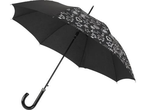 Paraplu die van kleur verandert