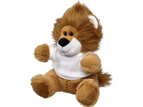 Plush lion with shirt