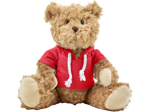 Plush teddy bear with hoodie