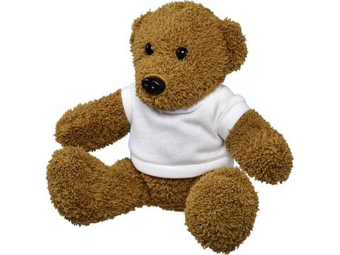 Plush rag bear with shirt