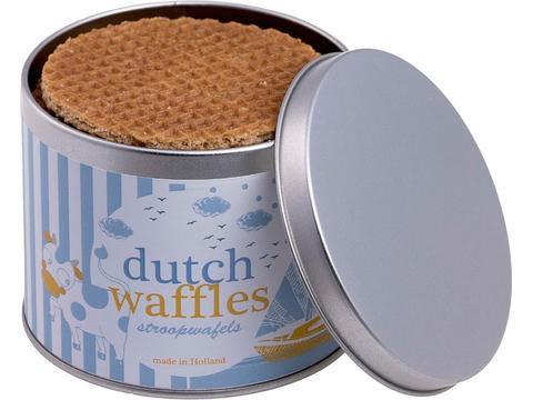 Tin syrup waffles