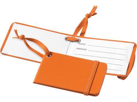 Kofferlabel met elastiek