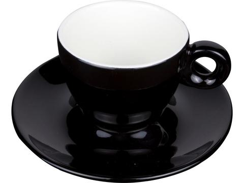 Koffiekopje met ondertasje 15 cl